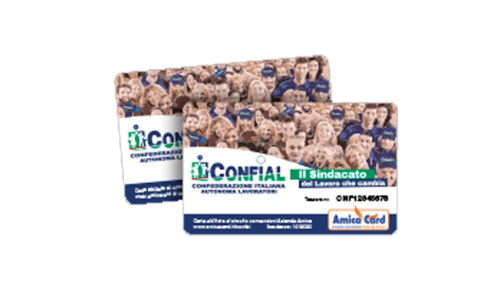 Confial card - carta sconti del circuito convenzioni